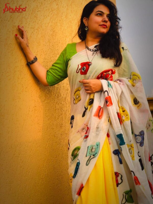 Telephone Saree